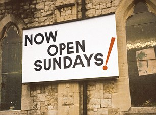 We are open Sundays