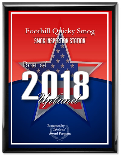 2018 Smog Inspection Station Award